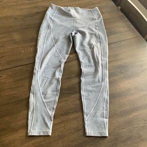 Great condition lululemon denim washed leggings 10